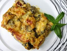 Vegan & Νόστιμο: Μπρόκολο Σουφλέ Lasagna, Quiche, Cauliflower, Vegan Recipes, Vegetables, Breakfast, Ethnic Recipes, Food, Morning Coffee