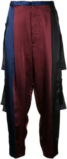 Toga Pulla panelled track pants