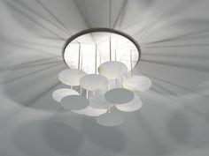 Luminária de teto LED de alumínio Coleção Millelumen Circles by millelumen | design Jordi López Aguiló