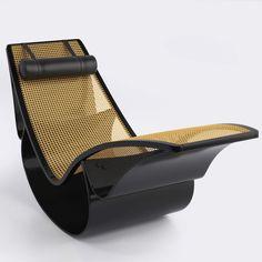 Estudo com foco em rattan. A chaise Rio do Oscar Niemeyer.  3dsmax - Vray - Photoshop