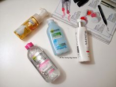 Makeup removers have always played an important part in my nightly routine. I have never been the one to use a no rmal cleanse r to remove . Makeup Removers, Types Of Makeup, Different Types, Cleanser, Routine, How To Remove, Bottle, Random, Cleaning Supplies