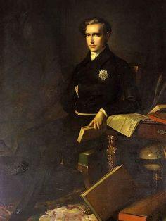 * Retrato de Napoleon II * (Napoléon François Joseph Charles Bonaparte). (* Paris, 20/Março/1811 - Viena, 22/Julho/1832). Filho de Napoleão Bonaparte e Maria Luísa de Áustria.