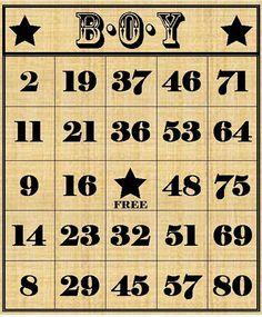 Freebie - Anyone for Bingo?