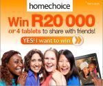 Win R20000 or 4 tablets to share with your friends! | Ends 30 June 2014
