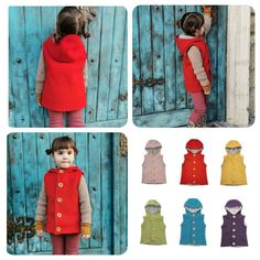 Boilet wool Kids vest by CaciuliBEBE on Etsy Kids Vest, Wool Vest, Primary Colors, Lana, My Etsy Shop, Summer Dresses, Trending Outfits, Handmade Gifts, Shopping
