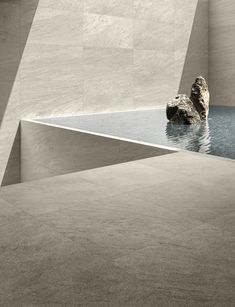 Core – The charm of nature has never been so deep on Inspirationde Water Architecture, Minimalist Architecture, Architecture Details, Interior Architecture, Minimalist Design, Interior Design Guide, Exterior Design, Spa Design, House Design