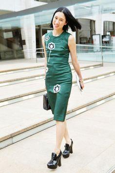 Eva Chen Dress: Prada - The Cut