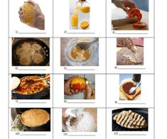 This worksheet contains an easy task that can be used to revise vocabulary connected with food preparation. Students have to match the words from the box with the pictures. They can later us