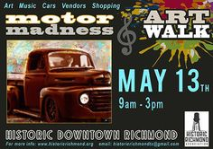 Please join the Historic Richmond Association as it hosts a 2 for one Festival in Charming Historic Downtown Richmond Texas!  This event has something for everyone. on May 13th 2017 9am-3pm on Morton Street (between 2nd and 6th Street) All the information you need on Both events is below and at the Facebook event link. Be sure to check out the Discussion Tab on the Facebook Event page for updates on event happenings. click for details Hope to see You There!!!!!!!  Art Walk Festival Richmond…