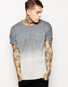 ASOS T-Shirt With Dip-Dye And Oversized Dropped Shoulder Fit http://picvpic.com/men-t-shirts-t-shirts/asos-t-shirt-with-dip-dye-and-oversized-dropped-shoulder-fit#grey~marl