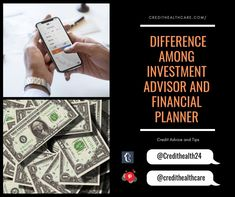 What is Certified Financial Planner? What is Registered Investment Advisor? Which are the difference among Investment Advisor and Financial Planner. Certified Financial Planner, Credit Score, Investing, Finance, Advice, Tips