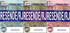 Apostilas Concurso Prefeitura Municipal de Resende / RJ - 2016: - Cargos: Guarda Municipal, Assistente Administrativo e Agente de Programas Sócio-Culturais e Desportivos