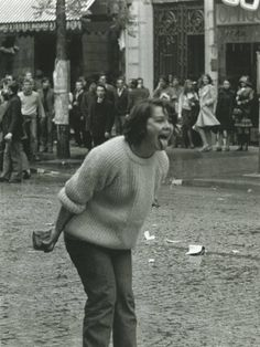 By Manuel Bidermanas, Boulevard Saint-Germain,Paris, 1968