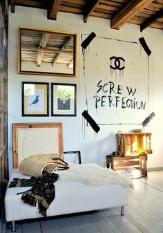 Screw perfection. Decor, Furniture, Room, Interior, Home Decor Decals, Wall, Home Decor, House Interior, Interior Design