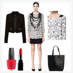 A fashion look from February 2013 featuring white dress, print dress and cropped blazer. Browse and shop related looks. Cropped Blazer, Outfit Of The Day, White Dress, Fashion Looks, Outfits, Shopping, Dresses, Style, D Day