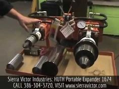 Available at Sierra Victor Industries: HUTH Portable Expander. MODEL 1674 - Rod Bracket Bending. For more information or to order, CALL TODAY 386-304-3720, VISIT  http://sierravictor.com/index.php?dispatch=products.view&product_id=3844