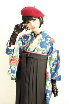"taishou-kun: "" Dali kimono kimono rental - Taishou style """