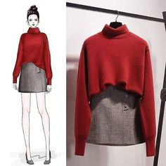 Pairing colors will either build or break your outfit. So, it's solely natural to feel a bit uneasy once experimenting with new tones and pa… in 2020 Cute Fashion, Look Fashion, Womens Fashion, Fashion Moda, Street Fashion, Fashion Ideas, Korea Fashion, Asian Fashion, India Fashion