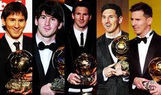 #Messi #Messi #Messi #Messi y otra vez #Messi. 5 Balones de Oro para su museo. El futbolista de otro planeta.