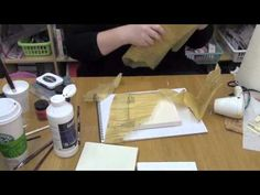 VIDEO:  Mixed Media on Canvas - Part #1  (Ways to Cover the Canvas to Prepare It for Part #2)