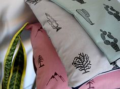 Pillow Cover Valley- Throw pillows for couch - Cactus cacti Print - Home Decor Original design by FaroStore - Click today to see details USA and Canada Shipping