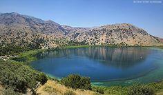Kournas lake, Chania, Crete, Greece