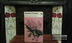 Vintage Agatha Christie books with Tom Adams artwork on the cover. For sale in our online shop.