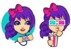 In this intermediate tutorial we'll create a character from scratch in Adobe Illustrator and then make a small set of sticker designs, ready for chat, mobile, and blog use. We'll go through the process of keeping the design consistent, creating various facial expressions, and simplifying components of the design for use throughout a set of icons. | Difficulty: Intermediate; Length: Long; Tags: Icon Design, Vector, Emoticon Design, Graphic Design, Adobe Illustrator