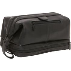 AmeriLeather Leather Toiletry Bag 5 Colors Toiletry Kit NEW Cowhide Leather, Leather Men, Black Leather, Thing 1, Toiletry Bag, Travel Accessories, Fashion Bags, Men's Fashion, Zip Around Wallet