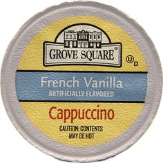 Grove Square Cappuccino French Vanilla 24 Count Single Serve Cups -- Check this awesome product by going to the link at the image.(It is Amazon affiliate link) #MorningDrinkIdeas Morning Drinks, Cappuccinos, French Vanilla, Counting, Cups, Amazon, Awesome, Link, Check