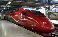 PARIS to Bruseels- AMSTERDAM/Cologne by train from €35 |  THALYS high-speed trains Buy Tickets Online, Train Times, Speed Training, Bucharest Romania, Amsterdam Travel, Orient Express, Train Travel, High Speed, National Railways