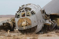 B-52 Stratofortress Wreckage, Mojave.