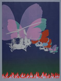 """Per Kleiva Amerikanske sommerfuglar 1971 Solgt for på """"Fokus den mai Art For Art Sake, Butterfly, American, Movie Posters, Pop Art, Den, Art, Film Poster, Art Pop"""