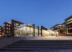 Nydalen Metro Station Extension,© Gitte Boge