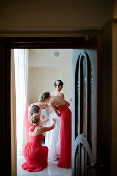 style me pretty - real wedding - mexico - puerto vallarta wedding - casa garza blanca - bride - getting ready - getting dressed
