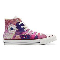 Scarpe Converse All Star personalizzate (prodotto Artigianale) Michael Jackson Style - TG38 - http://on-line-kaufen.de/make-your-shoes/38-eu-converse-all-star-personalisierte-schuhe-51