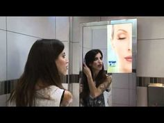 At last! Video ads on public restroom mirrors