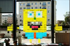 Can you guess who this character is?  He's made out of Post-it's!  Write your answer then click here to WIN 10k in Cash! http://womanfreebies.com/sweepstakes/win-10k-post-it-scotch-brand/?whoisit *Expires June 30th, 2013*