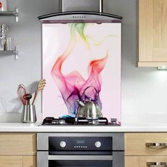 Abstract Wave - Printed Glass Splashbacks  http://www.colour2glass.com/#!abstract-wave/cngf