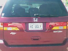 Another 16 Bizarre and Funny License Plates (funny license plates, funny vanity plates) - ODDEE