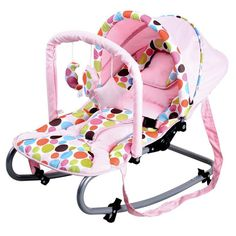 Harmony New Born Baby Rocker with Canopy in Pink | Buy Baby Bouncers