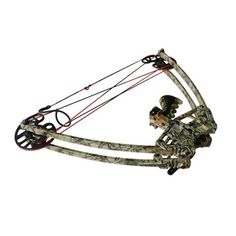 1 piece hot selling archery compound bows aluminum triangle bows with camo color
