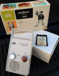 PlayTape 1310 Cartridge 2 Track Tape Player