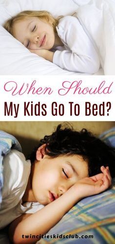 Twin Cities Kids Club Blogs: When Should My Kids Go To Bed? Getting your kid to bed early can help to improve their overall help. Research suggests that late bedtimes can result in a higher BMI, as well as poor dietary habits. Alertness can also be negatively affected, and this can result in poorer school performance.| Parents | Parenting | Parenting Tips | Parenting Hacks | Parenting Humor Step Parenting, Parenting Humor, Parenting Hacks, Twin Cities, Travel Deals, Bedtime, Cool Kids, Encouragement, Parents