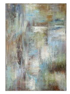 Abstract Wall Art Artwork Linen Fabric Mounted Wooden Backboard Decor 32224 | Furniture, home decor, wall decor, rugs, lamps, lighting outlet.