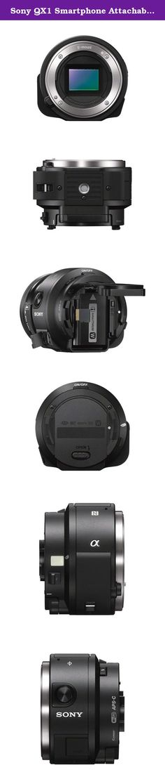 Sony QX1 Smartphone Attachable Mirrorless Digital Camera- Body Only. Sony ILCEQX1/B (black).