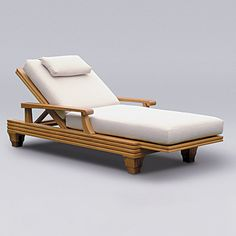 Teak Furniture :: Palazzio : Palazzio Chaise Lounge with cushion Pool Patio Furniture, Diy Furniture Couch, Teak Outdoor Furniture, Diy Furniture Plans, Furniture Design, Japanese Chair, Porch Chairs, Pallet Ideas Easy, Muebles Living