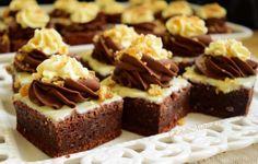 Negresă din albușuri cu ciocolată și krantz - Rețete Merișor