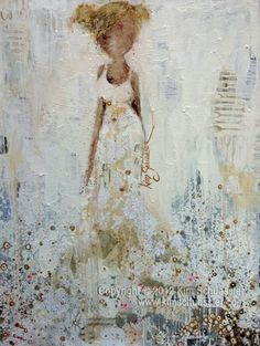 Kim Schuessler paintings make me smile every time I see them. She is one of my favorites! Would love to have an original. Been following her stuff for years.