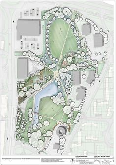 Stevenage Town Centre Gardens | Stevenage UK | HTA Landscape #landarch #urbandesign